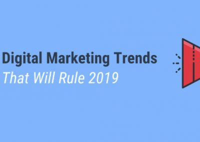7 Digital Marketing Trends That Will Rule 2019 [Infographic]