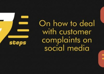 7 Keys to Dealing with Customer Complaints Online [Infographic]