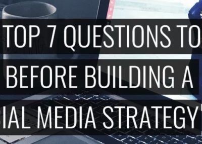 7 Questions to Ask (and Answer) Before Building a Social Media Strategy