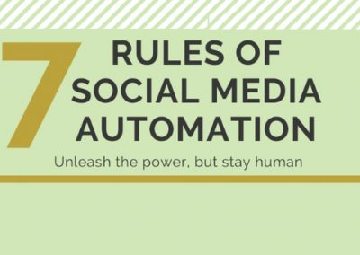 7 Rules of Social Media Automation [Infographic]
