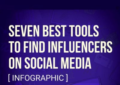 7 Tools to Find Influencers on Social Media [Infographic]