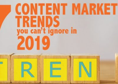 7 Top Content Marketing Trends You Can't Ignore in 2019