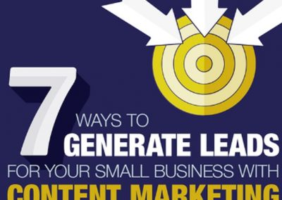 7 Ways to Generate Leads for Your Small Business with Content Marketing [Infographic]