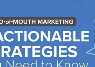 7 Ways to Grow Your Business Using Word-of-Mouth Marketing [Infographic]