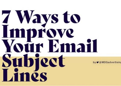 7 Ways to Improve Your Email Subject Lines [Infographic]