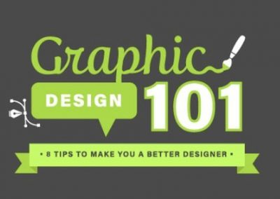 8 Graphic Design Tips That All Social Media Marketers Should Know [Infographic]