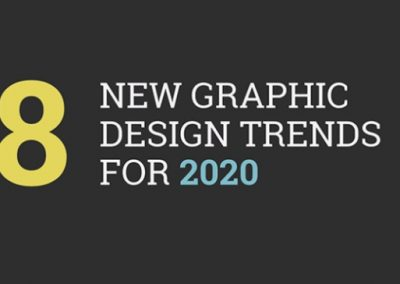 8 New Graphic Design Trends for 2020 [Infographic]