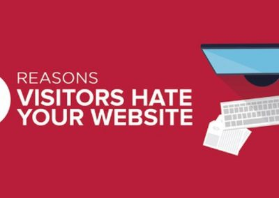 8 Reasons People Hate Your Website & Go to Your Competitors Instead [Infographic]