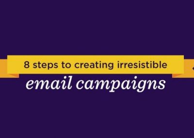 8 Steps to Create Irresistible Email Campaigns That Your Subscribers Will Love [Infographic]