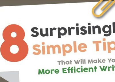 8 Surprisingly Simple Tips That Will Make You a More Efficient Writer [Infographic]