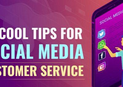 8 Tips for Social Media Customer Service [Infographic]