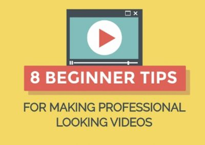 8 Tips to Create a Professional Video for Your Website or Social Media [Infographic]