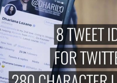 8 Tweet Ideas for Twitter's 280 Character Limit