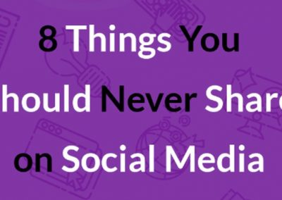 8 Types of Social Media Posts that Your Business Should Avoid [Infographic]