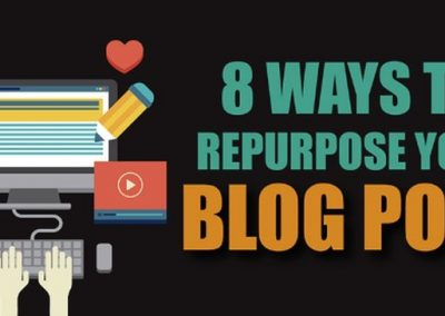 8 Ways to Repurpose Your Blog Posts into Awesome New Content [Infographic]