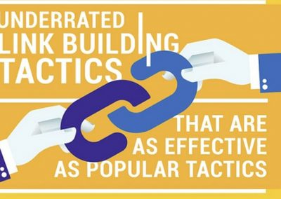 9 Underrated Link Building Tactics That Can Massively Improve Your SEO [Infographic]