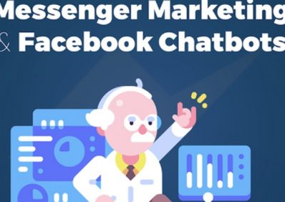 A Beginners Guide to Facebook Messenger Chatbots [Infographic]
