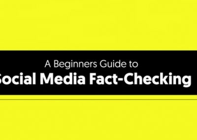 A Beginners Guide to Social Media Fact-Checking [Infographic]