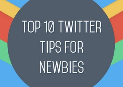 A Beginners Guide to Twitter: 10 Tips for Success [Infographic]