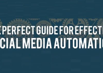 A Guide For Effective Social Media Automation [Infographic]
