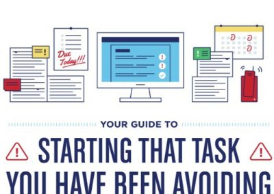 A Guide to Starting That Task That You've Been Avoiding [Infographic]