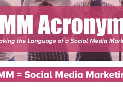 Acronyms for the Social Media Marketer [Infographic]