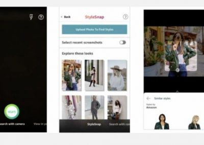 Amazon Replicates Pinterest Lens with 'StyleSnap' Feature