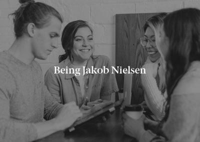 Being Jakob Nielsen