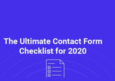 Contact Form Design: 19 Tips for a High-Converting Contact Page [Infographic]