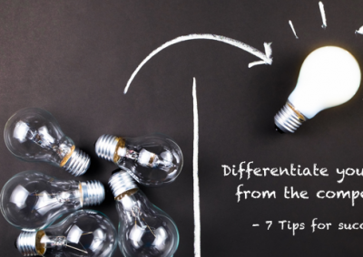 Differentiate your brand from the competition: 7 tips for success