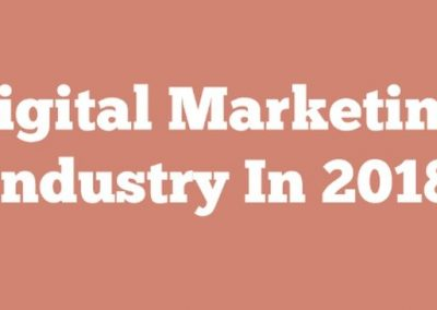 Digital Marketing Industry in 2018 [Infographic]
