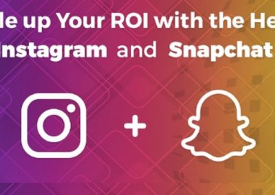 Double up Your ROI with the Help of Instagram and Snapchat [Infographic]