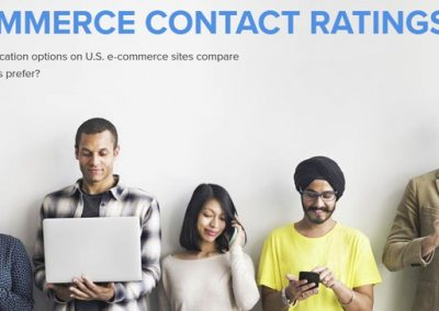 eCommerce Contact Ratings 2019 [Infographic]