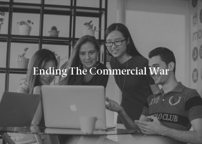 Ending the Commercial War