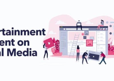 Entertainment Content on Social Media [Infographic]