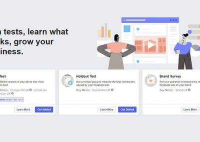 Facebook Adds a New 'Experiments' Element to Ad Manager to Help Optimize Ad Performance
