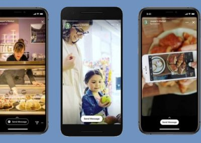 Facebook Adds 'Click to Message' CTA to Stories Ads