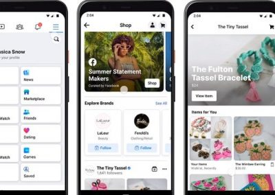 Facebook Adds Facebook Shop Tab, Expands Facebook and Instagram Shops to All US Businesses