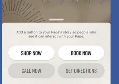 Facebook Adds New CTA Stickers for Page Stories