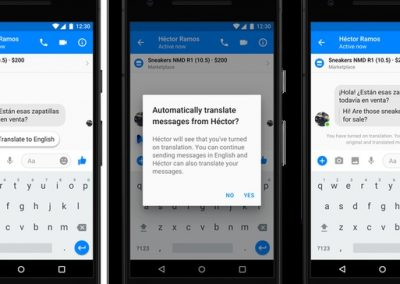Facebook Adds New Translation Tools to Messenger, Updates Bot Response Capabilities