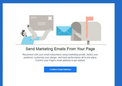 Facebook Adds Option to Send Marketing Emails via Pages App