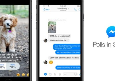 Facebook Adds Polls to Messenger Stories, or 'Day', or Whatever its Now Called
