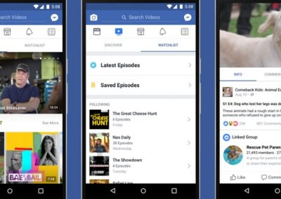Facebook and Twitter Continue to Expand their TV-Like Video Efforts, Add New Opportunities