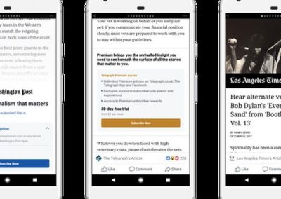 Facebook Expands Subscriptions to Help Publishers Retain Audience