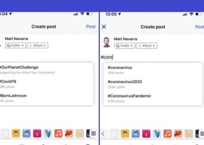 Facebook Expands Test of New Hashtag Use Metrics Within Post Composer