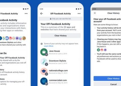 Facebook Finally Launches Its 'Clear History' Tool, Starting in Ireland, South Korea and Spain