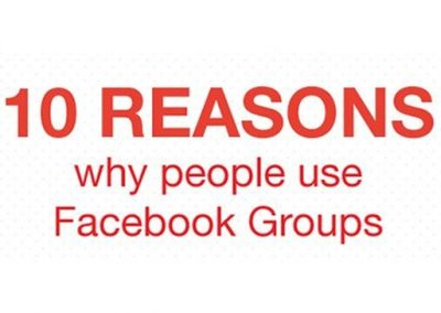 Facebook Groups for Business: 10 Reasons to Add Them to Your Strategy [Infographic]