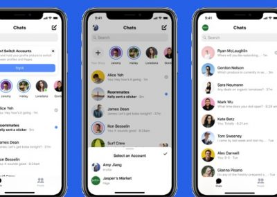 Facebook is Adding a New Option to Switch Between Personal and Business Accounts in Messenger