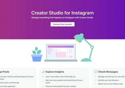 Facebook is Working on a New Creator Studio Dashboard for Instagram