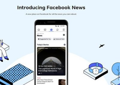 Facebook Launches Facebook News, a Dedicated Tab for News Content